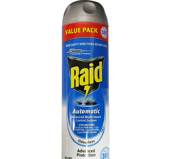 bottle of raid